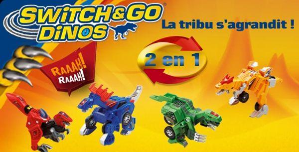 VTECH nous surprend avec les minis SWITCH&GO DINOS + CONCOURS pour en gagner un !