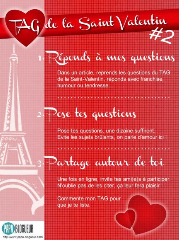 Mes réponses au TAG de la Saint-Valentin #2 by Papa Blogueur