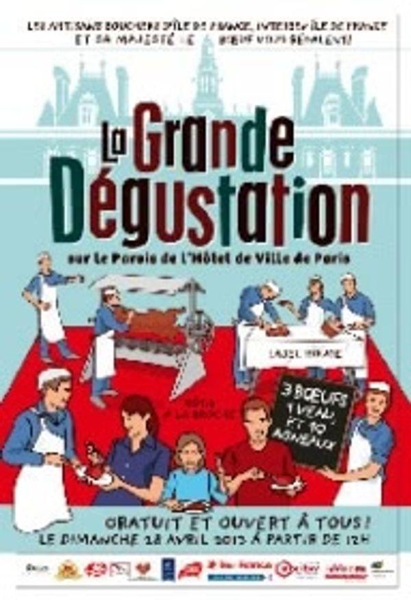 La grande dégustation BBQ géant sur Paris