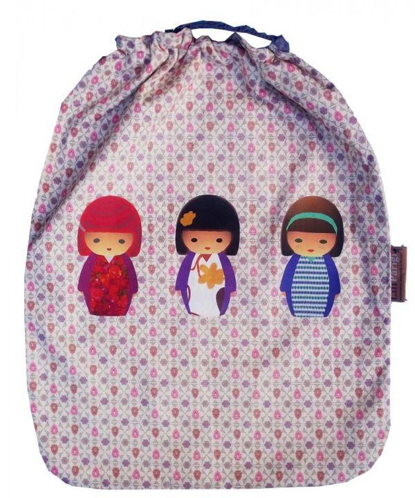 TITIPARIGI: de superbes serviettes elastiquées, le top pour la cantine de vos bambins en maternelle !
