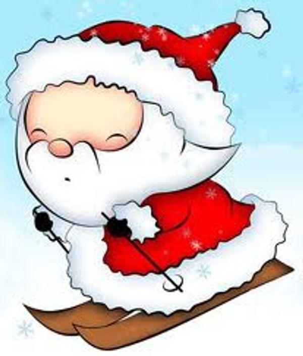 le père Noel est décidément partout!!