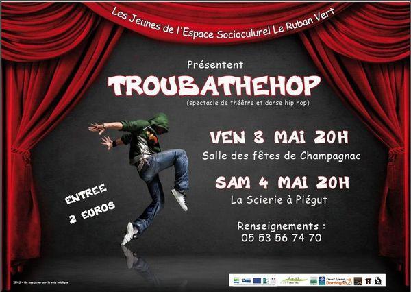 Spectacle par les jeunes de l'Espace Socio culturel de Mareuil, vendredi 3 mai 2013, samedi 4 mai 2013