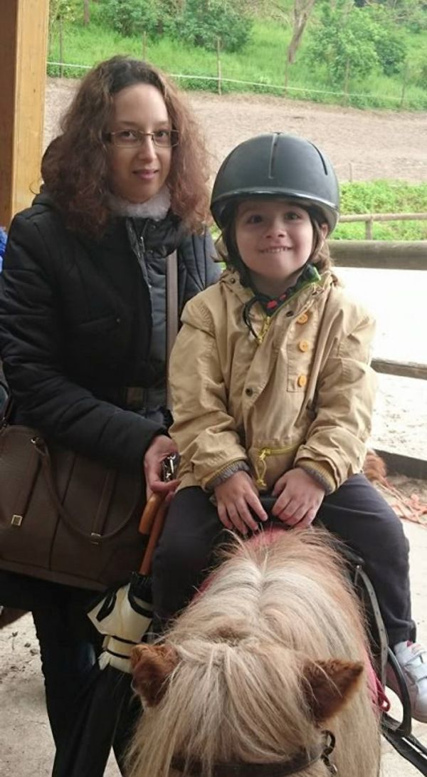 premier poney pour tylian avec les coffrets mc donalds