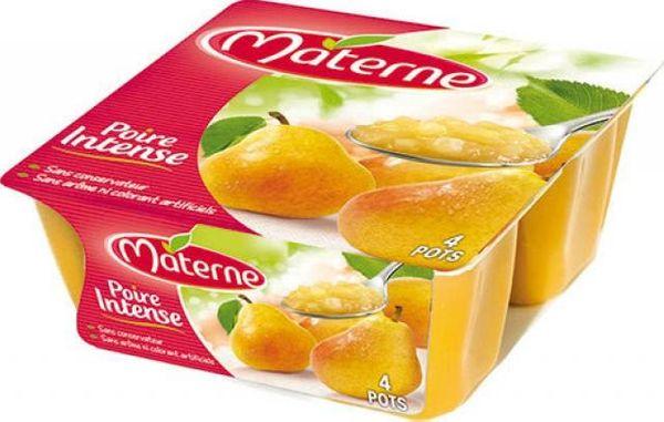 Materne et les compotes pour les grands + un coffret à gagner.