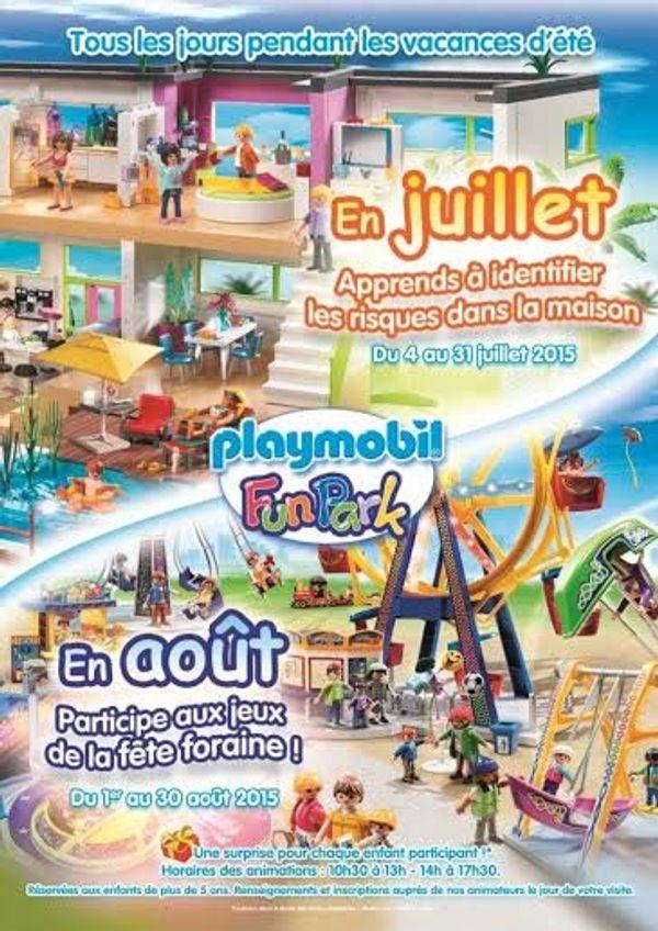 Les animations d'été au Playmobil FunPark