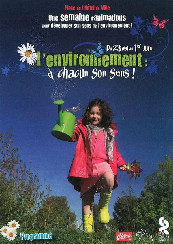 Semaine sur l'environnement à Chalon du 24 mai au 1er juin