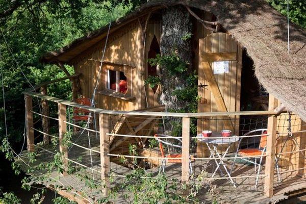 Un weekend en famille dans une cabane