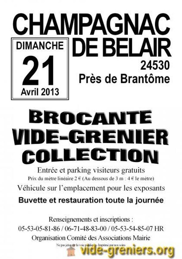 Des vide-greniers à faire en Dordogne pour le dimanche 21 avril 2013