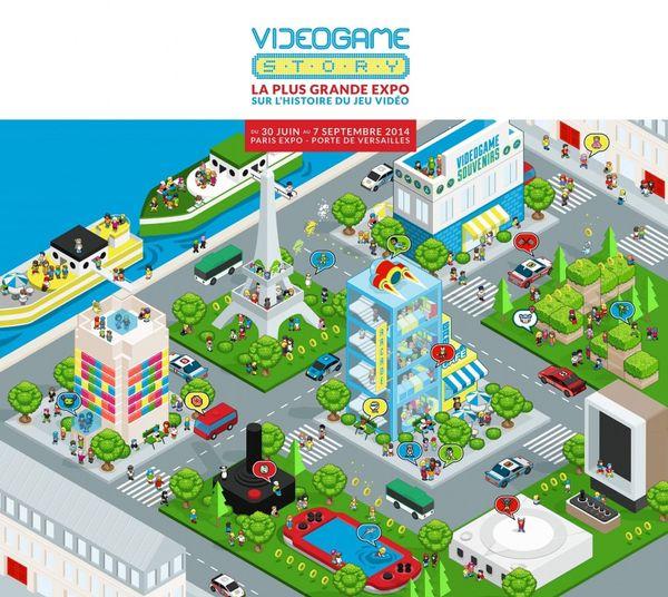 VideoGame Story: l'expo geek à ne pas manquer + 10X2 invits à offrir.