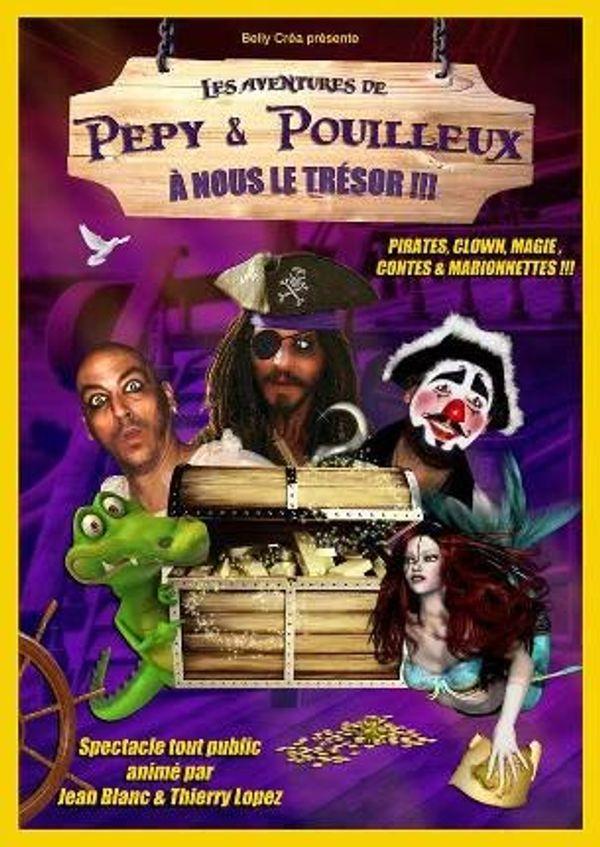 Pépy & Pouilleux : A nous le trésor Théâtre Athéna de Nice + bon plan
