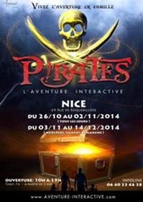 Les pirates sont là et reste à Nice jusqu'au 14 décembre 2014.