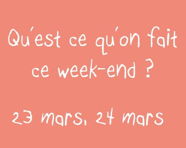Votre agenda du week-end (23-24 mars) en Essonne