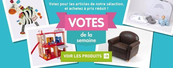 Premiers Arrivés: votez et économisez + 1 cadeau à gagner