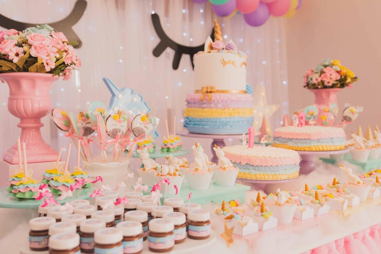 Organisation d'un anniversaire licorne