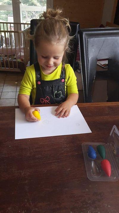 crayons cahier