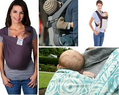 PHOTO montage porte bébé