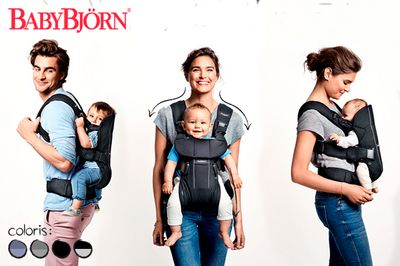 Porte-bébé One - BabyBjörn image