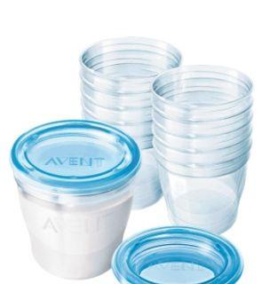 Système de conservation pour lait maternel Via