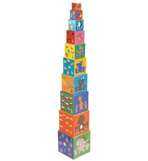 10 cubes imagiers