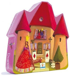 Puzzle Dame de coeur 54 pièces