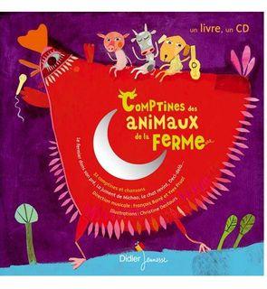 Livre-CD Comptines des animaux de la ferme