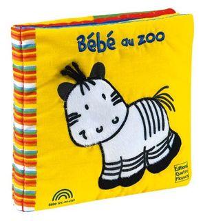 Bébé au zoo - livre tissu