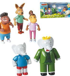 Figurines Badou et ses amis