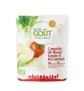 Plat complet : Compotée de Fenouil au riz Good Goût