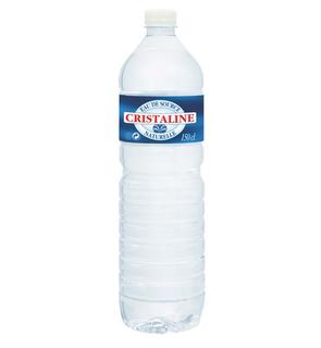 Eau minérale Cristaline