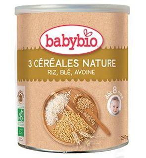 3 céréales nature