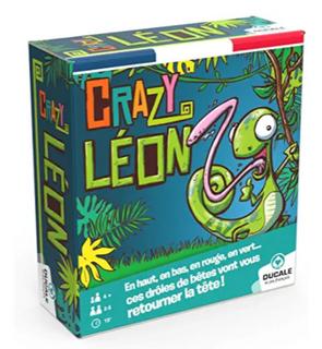 Crazy Léon-Jeu de Cartes