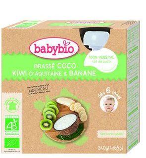 Brassé lait coco kiwi banane
