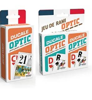 Optic - Lot de 2 Jeux de Cartes