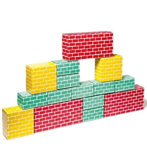 Briques géantes 3 tailles Archi Brick Oxybul