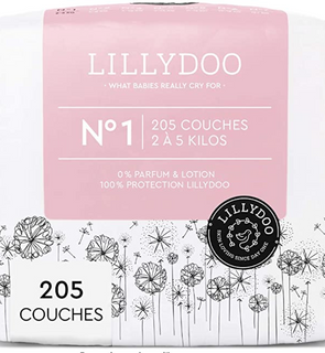 Couches Taille 1 (2-5 kg)