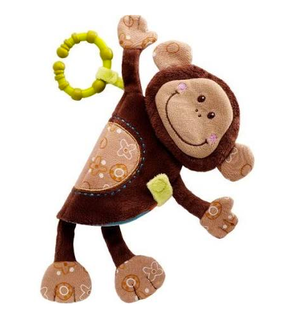 Imagier Basile le singe