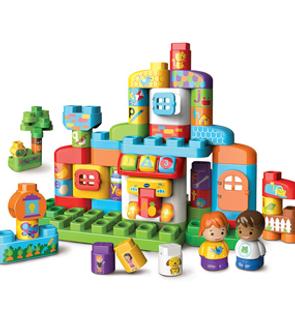 Bla Bla Blocks -Ma Maison Alphabet Interactive