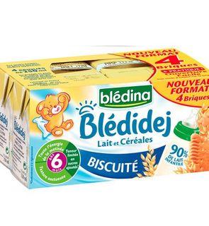 Blédidej Lait et céréales Biscuité