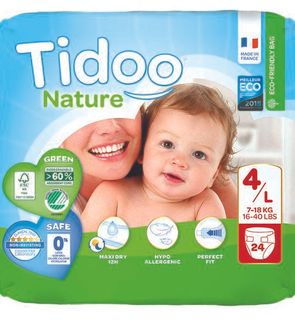 Couches Tidoo Nature Taille 4