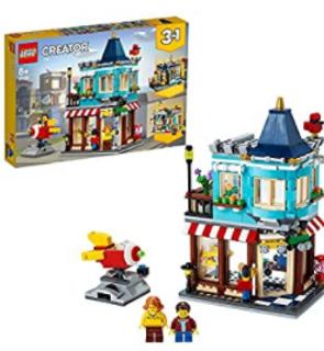 Le magasin de jouets du centre-ville