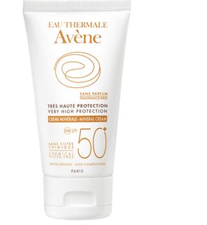 Crème solaire minérale 50+ corps Avène