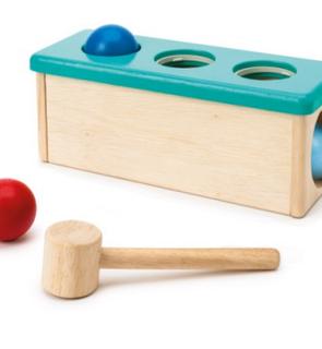 Banc à marteler Ateliers Montessori Oxybul