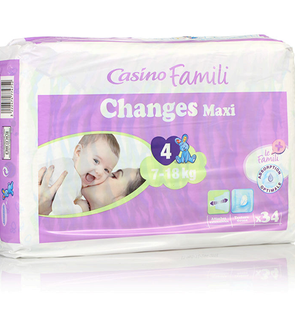 Couches Changes Maxi Taille 4