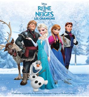 CD Les chansons de la reine des neiges