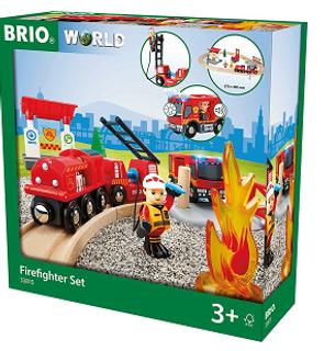 Circuit Pompier lutte contre feu Brio