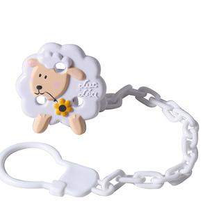 """Clip et chaînette """"Mouton"""""""