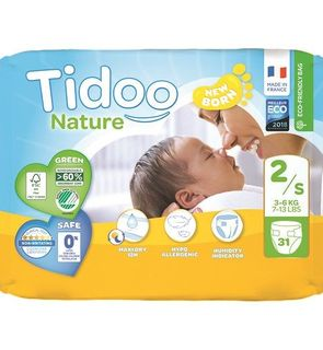 Couches Tidoo Nature Taille 2