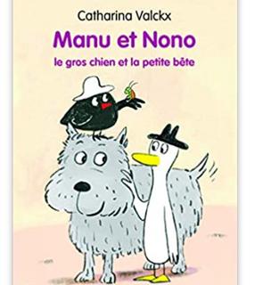 Manu et Nono : Le gros chien et la petite bête