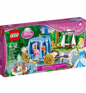 Le Carrosse enchanté de Cendrillon Lego Disney Princess
