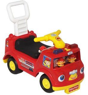 Camion de pompiers Little People